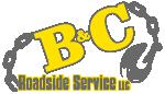 B & C Roadside Service Logo